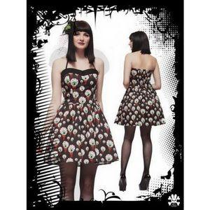 Hell Bunny Eyeball Perry Mini Dress Pin up dress